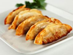 mmmm homemade potstickers--this has become a family favorite. My husband  says they