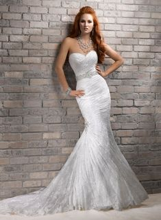Maggie Sottero Fit and Flare Wedding Dresses