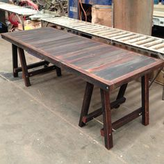 Dining Style Trestle Table