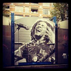 Bob Marley street art.....