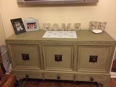 Sideboard for my sewing bits