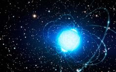 Artist's impression of the magnetar in star cluster Westerlund A magnetar is a rare type of neutron star that is left behind after a supernova explosion. Radios, Binary Star, Neutron Star, Universe Today, Star System, Hubble Images, Star Formation, Eastern Star, Interstellar