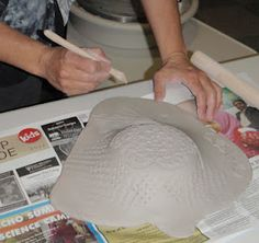 Looks like an easy and fun clay project for bowls of any size -Fayston Elementary Art: Empty Bowls with Leslie Montalto