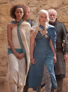 all men must die, but we are not men! *Daenerys, Missandei*