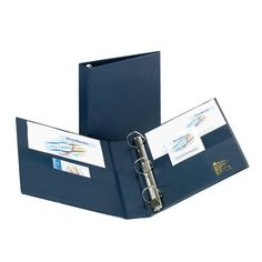 Shop Avery Heavy-Duty Binder with 1.5-Inch One Touch EZD Ring, Navy Blue (79825) online at lowest price in india and purchase various collections of Binder Accessories in AVERY brand at grabmore.in the best online shopping store in india