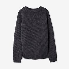 VIRDIS RIBBED MOHAIR SWEATER - Acne Studios