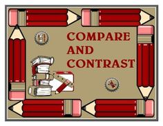 Compare and Contrast Graphic Organizer - New
