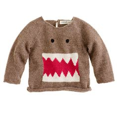 Oeuf® baby monster sweater