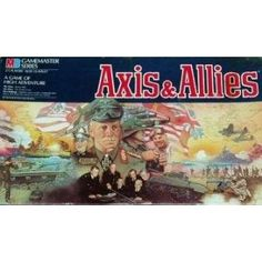 The grandpappy of great war-based strategy board games.  Or perhaps the great-uncle.  Risk has nothing on Axis & Allies.