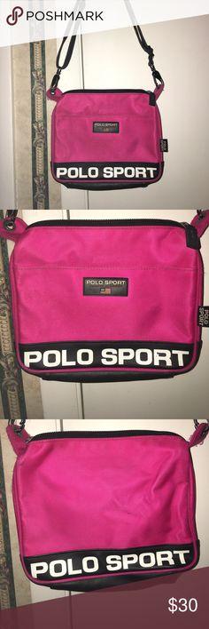 aba99a14e9 Pink Vintage Polo Sport Handbag Pink Vintage Polo Sport Handbag. Has wear  as seen in. Ralph Lauren ...