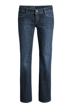 EDC / Stretchige Bootcut-Jeans