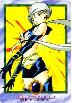 Naoko Takeuchi, Toei Animation, Bishoujo Senshi Sailor Moon, Sailor Star Healer, Yaten Kou