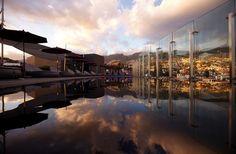 Rooftop terrace in Funchal