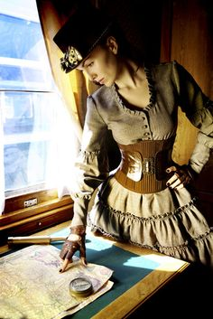 I wanna be a steam punk!