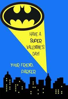 funny batman valentine cards