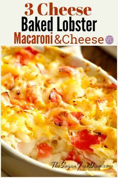 Baked Lobster Macaroni Cheese You Can Easily Sub In Crab Meat
