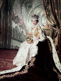 See the Stunning Portraits That Will Mark Queen Elizabeth's Record-Breaking Reign  The British Royals, The Royals, Queen Elizabeth II