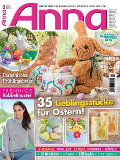 Handicraft, Knit Crochet, Anna, Teddy Bear, Knitting, Toys, Animals, Magazines, Download