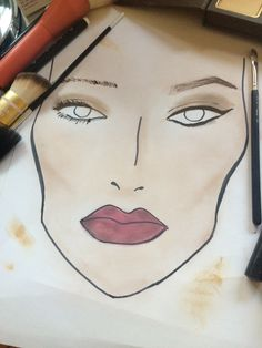 MAKEUP GUIDE -PART TWO: THE FACE Makeup Guide, Witch, Face, Beauty, Witches, The Face, Witch Makeup, Faces, Beauty Illustration