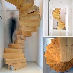 Spiral Wooden Stair by Lucjan Kuc, QC Architects. #Rzeszow #Poland www.amazingarchitecture.com ✔️ #amazingarchitecture #architecture www.facebook.com/amazingarchitecture https://www.twitter.com/amazingarchi https://www.pinterest.com/amazingarchi #design #contemporary #architecten #nofilter #architect #arquitectura #iphoneonly #instaarchitecture #love #concept #Architektur #architecture #luxury #architect #architettura #interiordesign #photooftheday #instatravel #travel #instago...