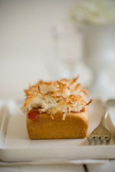 Coconut & Strawberry Cake