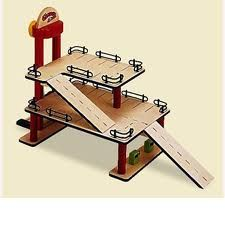wooden toy garage - Google Search