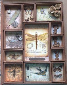 Crafty Jax: My Tim Holtz configuration box - what fun