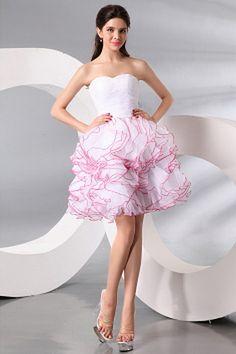 Princesse En Organza Robe De Retour À La Maison De Luxe rm2555 - http://www.robesmariees.com/princesse-en-organza-robe-de-retour-a-la-maison-de-luxe-rm2555.html - Décolleté: Sweetheart. Tissu: Organza. Manche: Sans Manches. Couleur: Blanc. Silhouette: Pri