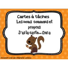 Cartes à tâches, coûte 1.50 Plus Classroom Procedures, Classroom Setup, Classroom Management, French Verbs, French Classroom, French Resources, French Immersion, French Lessons, Teaching French