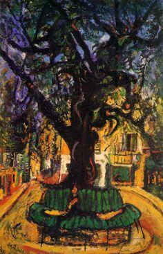 L'arbre de Soutine.