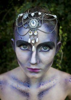 Alien Princess. Model: Zoe, Makeup and Photo: Kiralynn