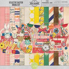 Eclectic Easter Digital Kit