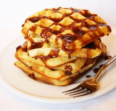 Cinnamon Roll Waffles from Scratch Recipe - So Good