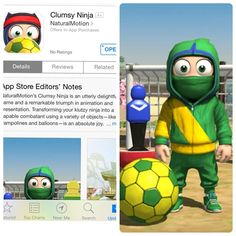 Are you following 2014 FIFA World Cup news? Even Clumsy Ninja is playing football these days! #clumsyninja #appoftheday #iosapp #bestapp #mobileapp #appstore #appdev #comboappchoice #game #football #fifa #worldcup2014 World Cup News, World Cup 2014, Fifa World Cup, App Of The Day, Mobile App, Ninja, Football, Game, Instagram Posts