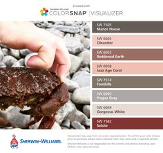 Ben moore colors converted to sherwin williams anonymous - Sherwin williams foothills interior ...