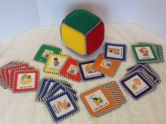 I. LOVE. DISCOVERY TOYS. Discovery Toys Roll & Play Activity Cube w/ Cards, Educational, Speech, Tactile #DiscoveryToys