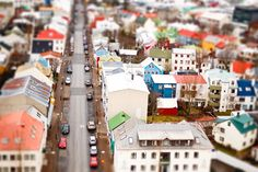 The view of Reykjavik from The Hallgrímskirkja church, via Kris Atomic.