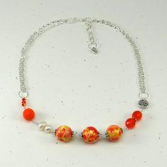 cavossa designs - Sweet Tangerine Necklace, $32.00 (http://www.cavossadesigns.com/sweet-tangerine-necklace/)