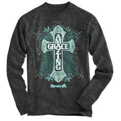 Amazing Grace Cherished Girl Long Sleeve Christian T-Shirt