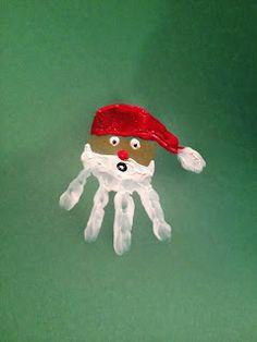 christmas handprint craft for kids