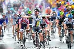 Mark Cavendish winning yet another stage