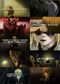 Mello - Death Note. I fucking love this gangster