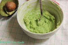 Make with your hands: Avocado Wasabi Dip