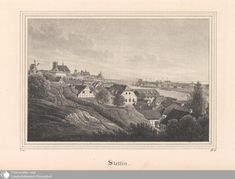 Stettin, Teichgräber, 1838 Prussia, Beautiful Buildings, Germany, Black And White, Photos, Painting, Art, Historia, Weimar
