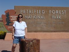 The Petrified Forest ~~~ like another planet!