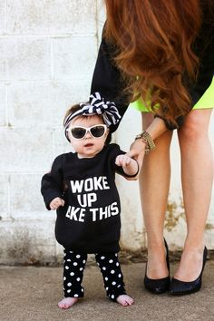 my future kid's outfit Fashion Kids, Baby Girl Fashion, Womens Fashion, Cute Kids, Cute Babies, Little Babies, Baby Kind, My Baby Girl, Baby Girls