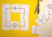 Hier vind je 5 werkbladen rond stroom en elektriciteit. Volgende zaken komen aan bod: stroomkring, symbolen, schakelaar maken, serie en parallel Knipvel met symboolkaartjes 5 werkbladen www.technie…