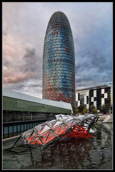 Torre Agbar de Sergi Muntés