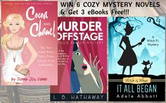 Cozy Mystery Giveaway