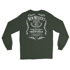 Long Sleeve New Mexico's Old No. 1 Green Chile T-Shirt